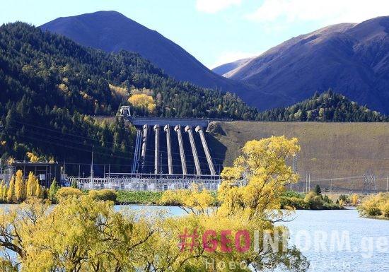 Ингури ГЭС остановит работу на 4 месяца