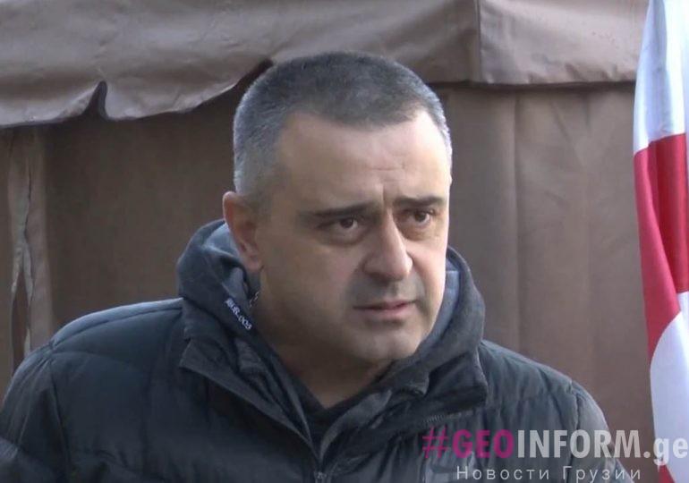 Лидер партии «SAXE+» требует встречи с Иванишвили