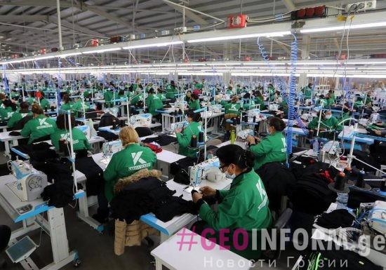 Открыли текстильную фабрику на 4000 рабочих мест в Рустави