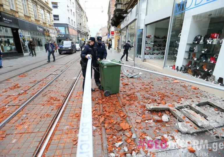 В Хорватии произошло землетрясение магнитудой 6,4
