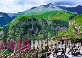 Количество иностранных гостей в Грузии уменьшилось на 91,6%