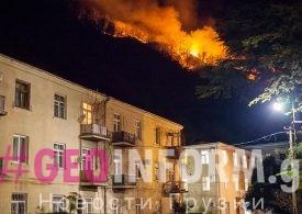 """Власти Грузии предложили  """"правительству"""" Абхазии помощь в тушении пожаров"""